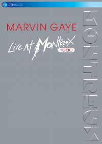 Cover Marvin Gaye - Live At Montreux 1980 [DVD]